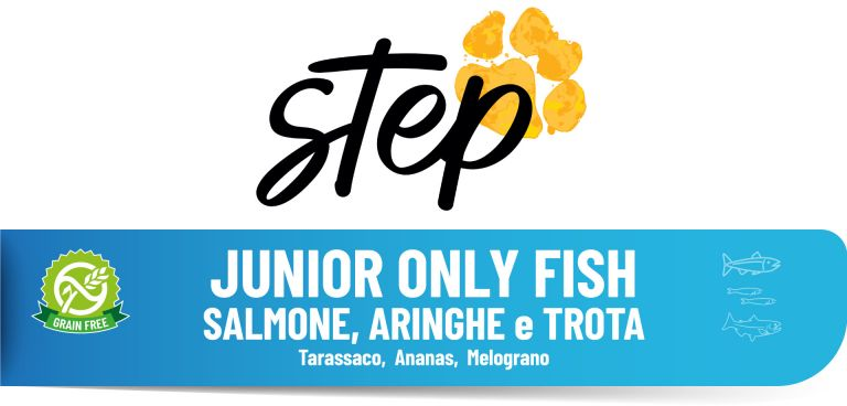 GRAIN FREE JUNIOR FISH 15 kg STEP